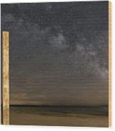 Lake Michigan Sky Wood Print