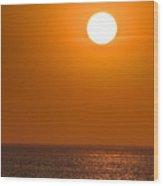 Lake Michigan Sunrise Chicago Wood Print