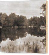 Lake Morris Wood Print