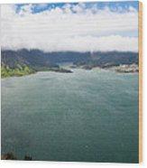 Lake Of Sete Cidades Wood Print