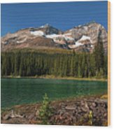 Lake O'hara, Yoho National Park Wood Print