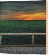 Lake Ontario Dawn Wood Print