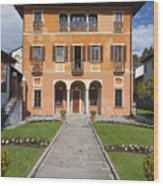 Lake Orta, Piedmont, Italy   Wood Print