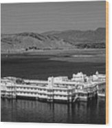 Lake Palace Hotel Wood Print
