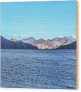 Lake Pangong Wood Print