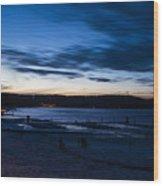 Lake Payette Wood Print