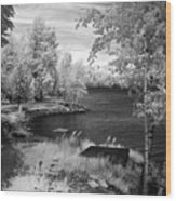 Lake Pend D'oreille Wood Print