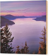 Lake Pend Oreille 2 Wood Print