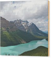 Lake Peyto - Banff National Park Wood Print