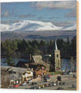 Lake Placid Ny Wood Print