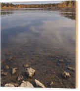 Lake Pomme De Terre In October Wood Print