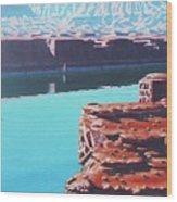Lake Powell Overlook Wood Print