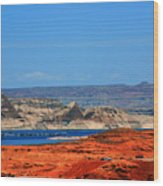 Lake Powell Utah Wood Print