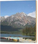 Lake Pyramid II La9713 Wood Print