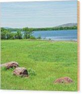 Lake Quanah Parker -  Wichita Mountains - Oklahoma Wood Print