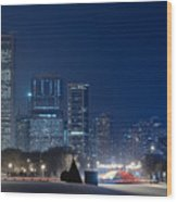 Lake Shore Drive Chicago Wood Print
