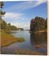 Lake Sinclair Wood Print