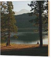 Lake Siskiyou  Wood Print