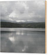 Lake Stillness Wood Print