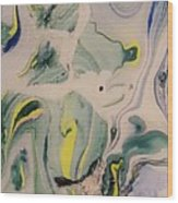 Lake Swirl 2 Wood Print