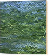 Lake Tahoe Abstract Wood Print