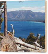 Lake Tahoe Wood Print