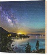 Lake Tahoe Dream Wood Print