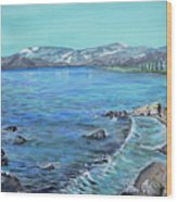 Lake Tahoe From Kings Beach California Wood Print