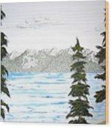 Lake Tahoe In Summer Wood Print