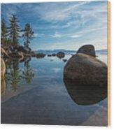 Lake Tahoe Nevada Wood Print