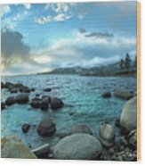 Lake Tahoe, Nevada Wood Print