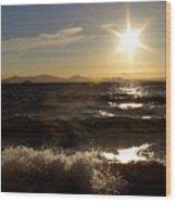Lake Taupo New Zealand Wood Print