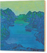 Lake Thun Wood Print