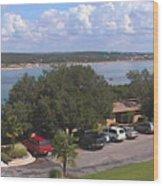Lake Travis Merge II Wood Print