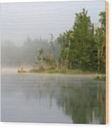 Lake Umbagog Morning Light  Wood Print