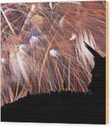 Lake Union July 4th B294 Wood Print