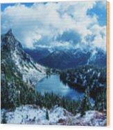 Lake Valhalla Wood Print