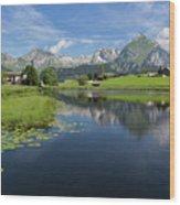 Lake Vorderer Schwendisee Wood Print