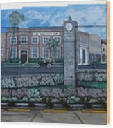 Lake Wales Florida Mural Wood Print