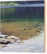 Lake Washington  Wood Print