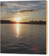 Lake Wilson Sunset Wood Print