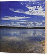 Lake Wollumboola Memories  Wood Print