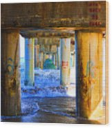 Lake Worth, Florida Pier Wood Print