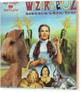 Lakeland Terrier Art Canvas Print - The Wizard Of Oz Movie Poster Wood Print