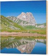 Lakes And Peaks Wood Print