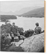 Lakes Of Killarney - Ireland - C 1896 Wood Print