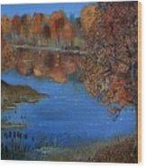 Lakeside17 Wood Print