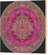 Lakshmi Yantra Mandala Wood Print by Svahha Devi