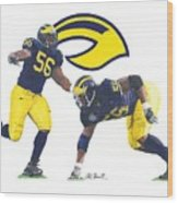 Lamarr Woodley Wood Print