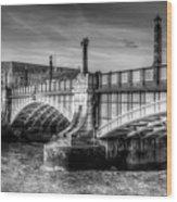 Lambeth Bridge London Wood Print